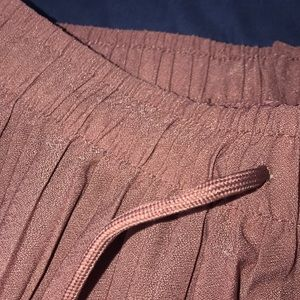 New Mix Pants - New Mix Mauve Adjustable Waistband Pants